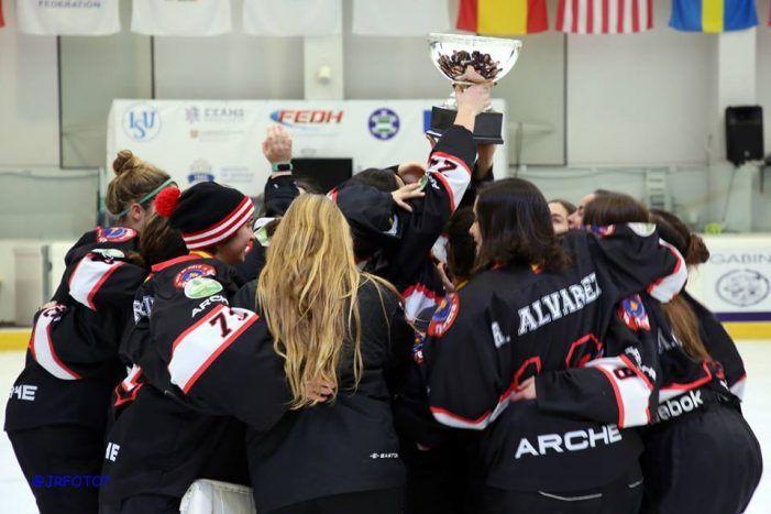 Hockey Hielo: SAD Majadahonda levanta en Granada su 8ª Copa de España 2018