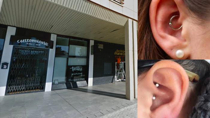 Un sorprendente piercing cura las migrañas en Customizarte Tattoo Majadahonda (Madrid)