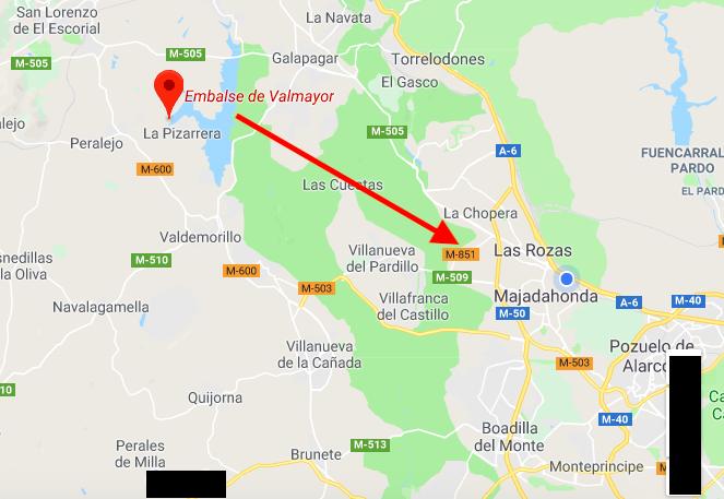 Plan de Emergencias en la Zona Oeste de Madrid por las lluvias que llenan los 3 pantanos