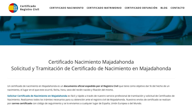 Asombroso Certificado De Nacimiento Corte Del Condado De Cumberland ...