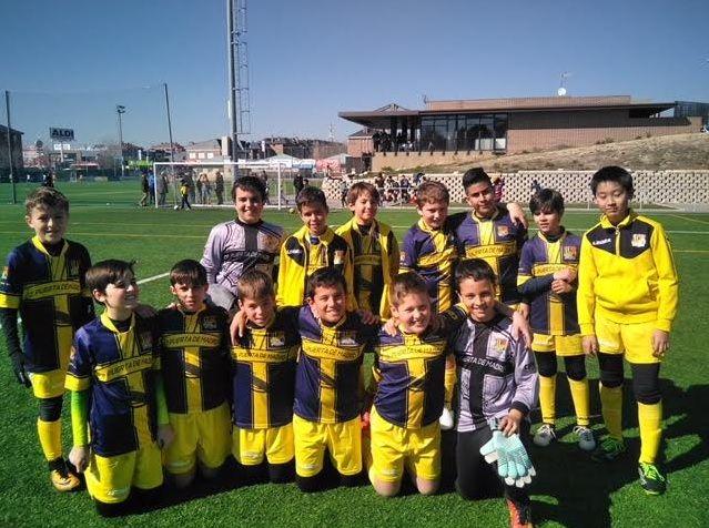 Fútbol base: buena semana de juego y resultados en Puerta de Madrid (Majadahonda)