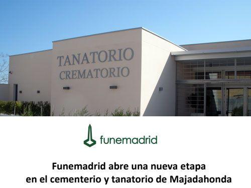 La Junta de Gobierno en Majadahonda adjudica el Tanatorio a Funemadrid por 247.000 €