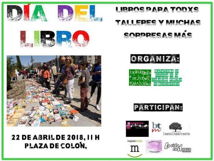 Protagonistas Cultura Majadahonda: Día del Libro, Torneo de Debate (UFV), Sofía Martínez (Zayas) y The Free Folking (Rey Louie)