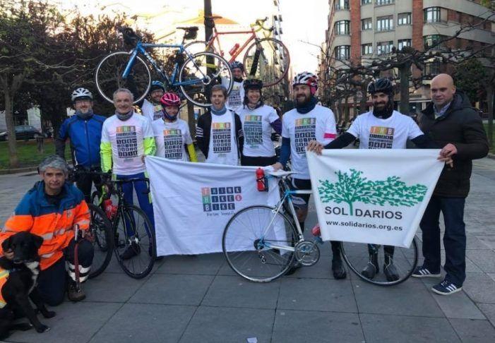 Club Ciclista Majadahonda recorre la etapa Gijón-Santiago para la ONG Solidarios: 1.800 €