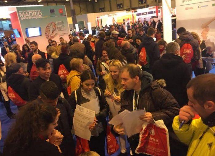 El Ayuntamiento de Majadahonda participa en dos Ferias de Empleo en IFEMA (Madrid)