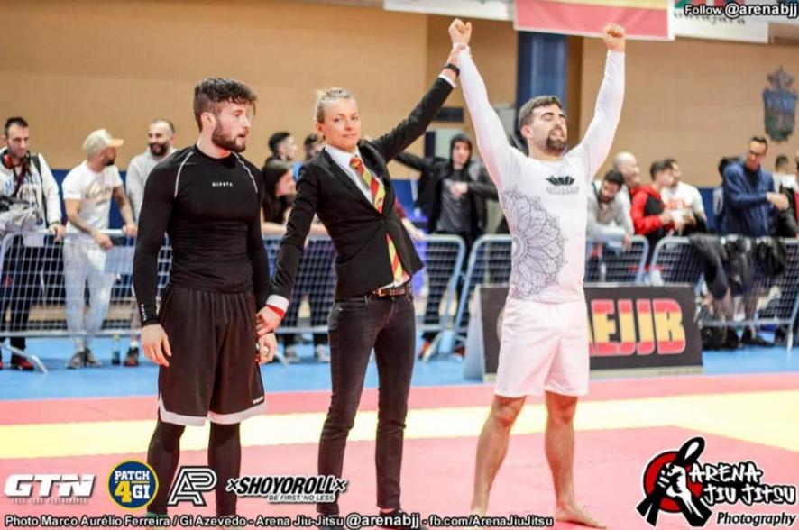 Ignacio Martialay (Majadahonda) conquista el bronce en el Campeonato de España de Jiu Jitsu