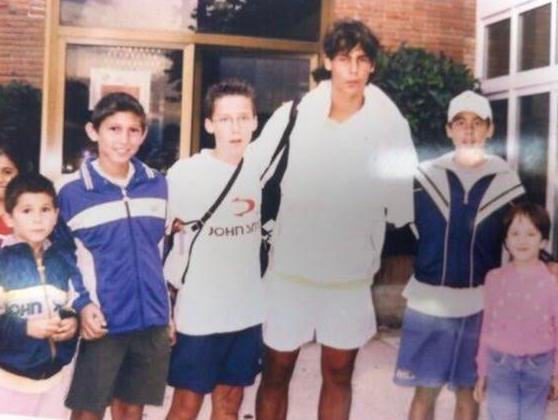 Protagonistas Deporte Majadahonda: la foto de Rafa Nadal (Tenis), Atletismo, Petanca, Spartan Race (Físico) y Natación (CNW Caude)