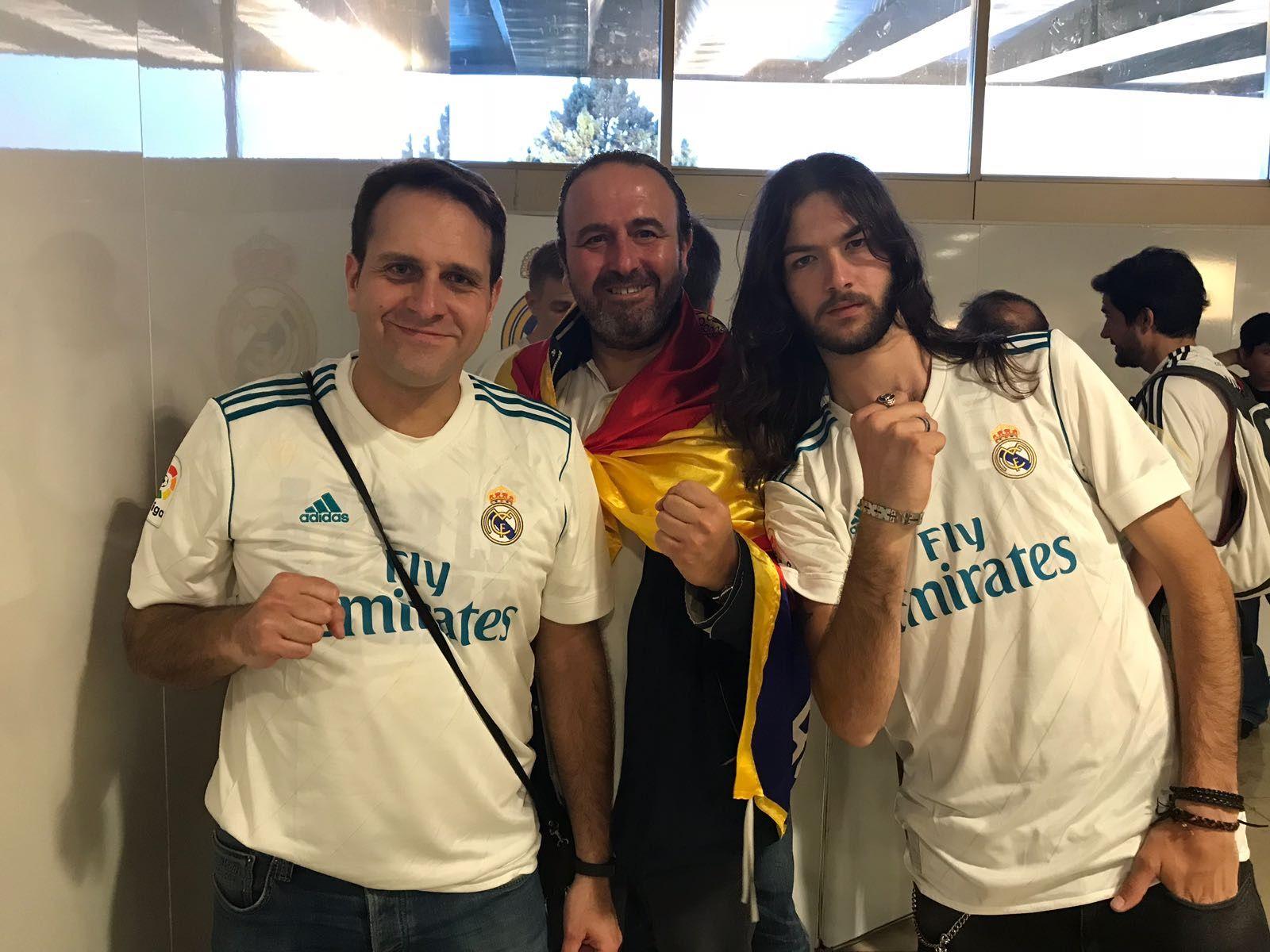 La Peña del Real Madrid en Majadahonda logra llegar a Kiev: primeras fotos