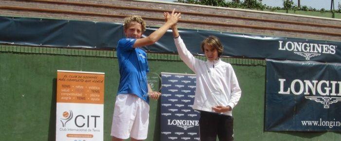 Crisanto (Majadahonda), Andino y Baranda (Las Rozas) hacen resurgir el tenis del Oeste madrileño a pesar del Covid