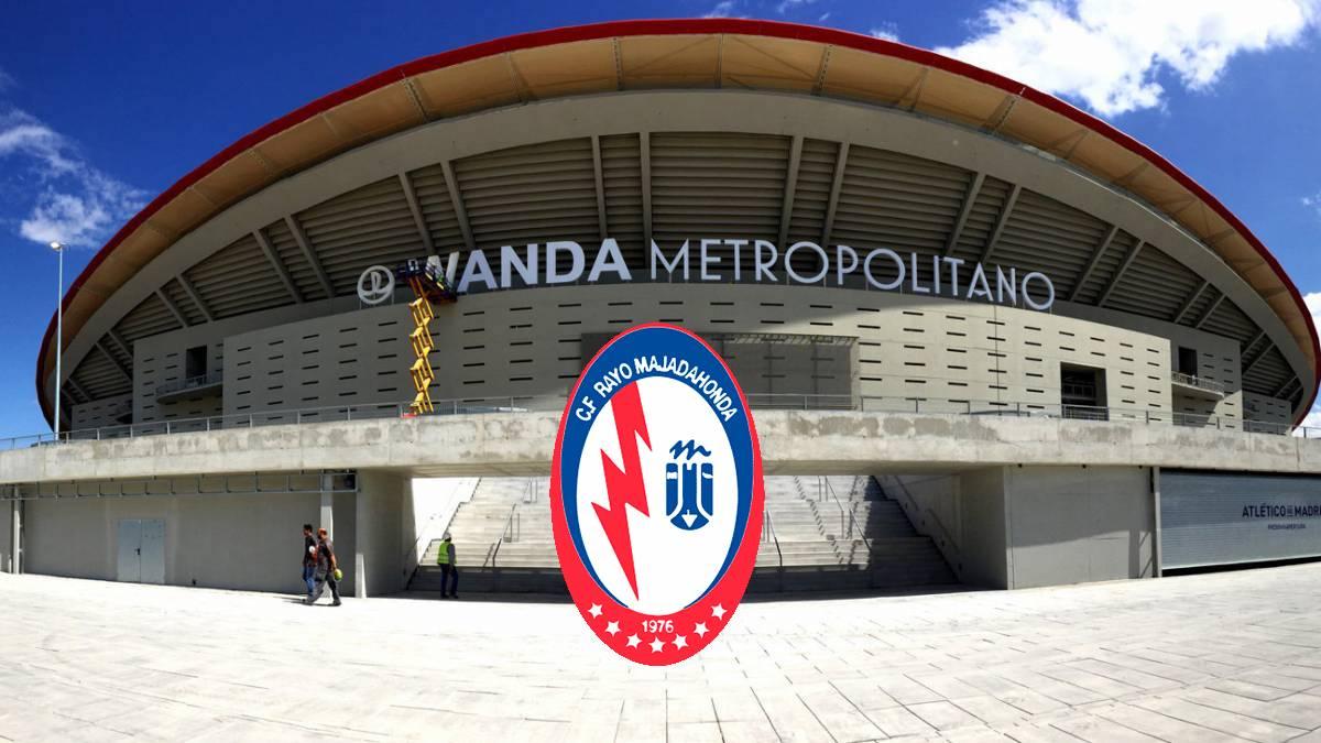 At. Madrid ofrece el Metropolitano al Rayo Majadahonda para jugar hasta enero