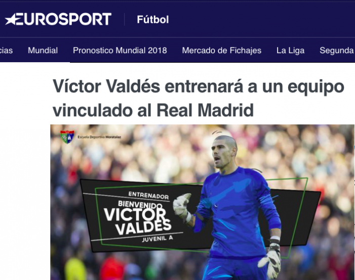La prensa dice que Valdés rechazó al Rayo Majadahonda por desvincularse del Barsa y entrenar un Juvenil A