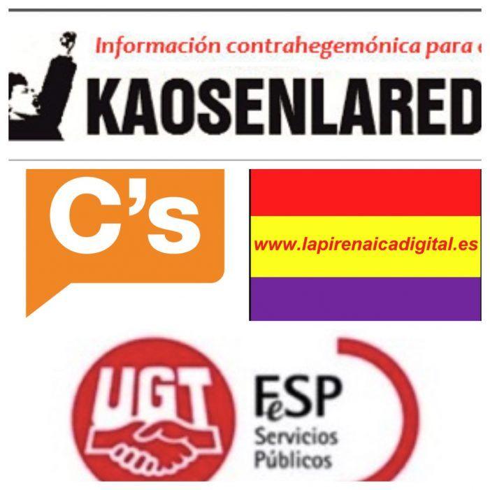 Cs, Kaos, Luchas Obreras (UGT) y La Pirenaica apoyan la huelga de basura en Majadahonda
