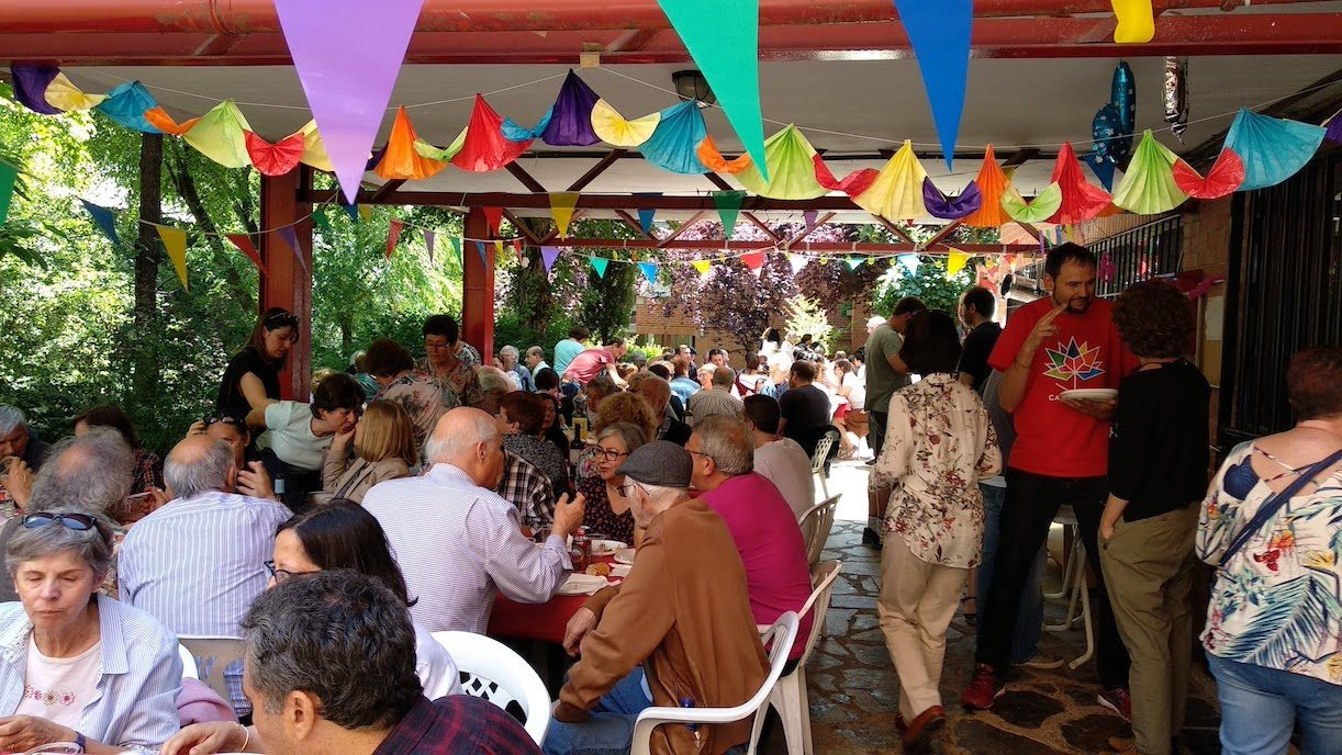La Urbanización Delta Majadahonda recuerda con el poeta Blas de Otero su 40º Aniversario