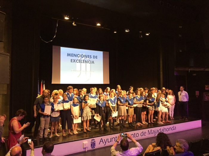 """Alumnos """"excelentes"""" de Majadahonda agradecen sus premios 2018 """"al apoyo de padres y esfuerzo de profesores"""""""