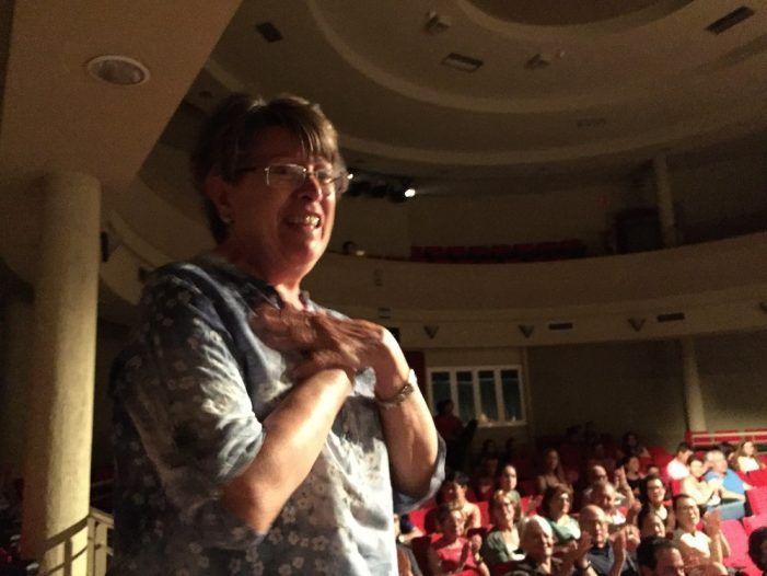 Espontáneo homenaje en Majadahonda a la profesora de música Lourdes Erro: concierto en la Casa de la Cultura