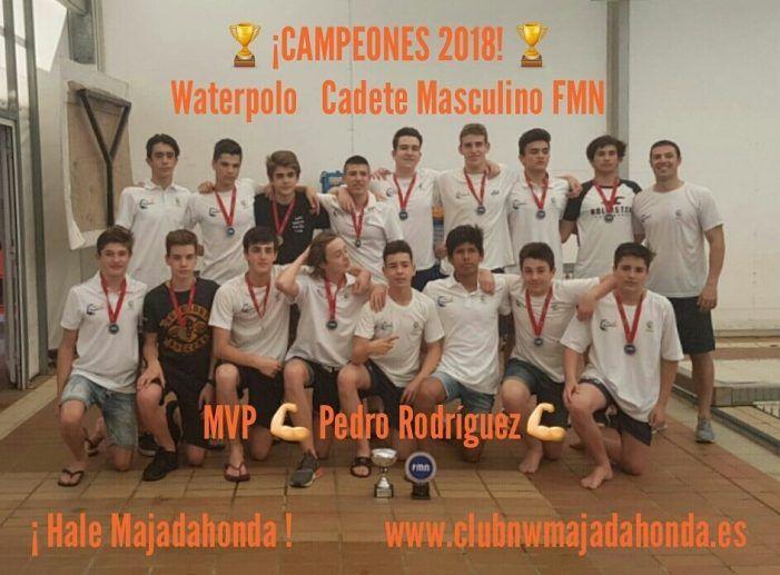 Deporte Majadahonda: waterpolo (Caude), patinaje artístico (Javier Fernández), carreras populares (atletismo) y fútbol (Cartagena)