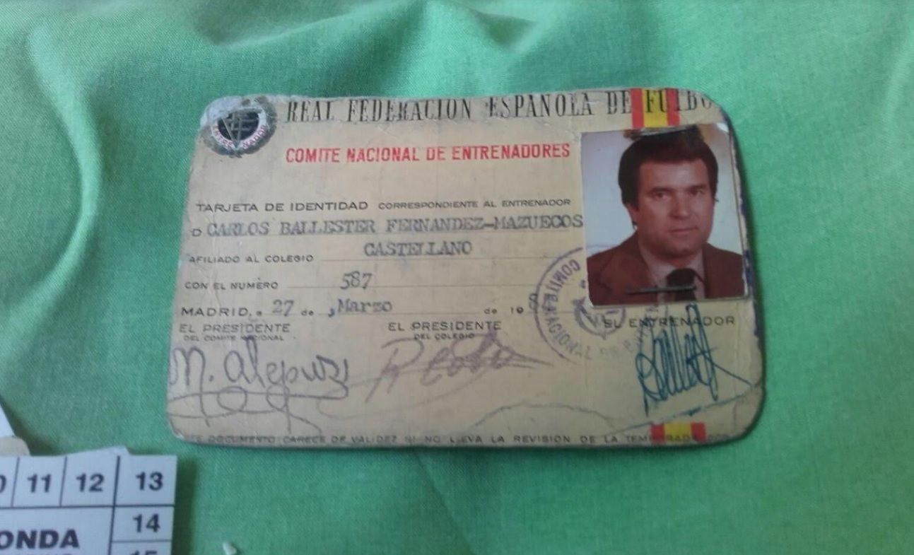 Memorial Carlos Ballester: fotos históricas de un dirigente ejemplar del Rayo Majadahonda