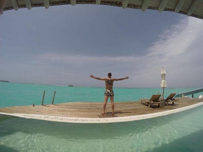 Protagonistas Rayo Majadahonda: Jorge García (Sporting), Abdón Prats (alcoholemia) y Theo (Islas Maldivas)