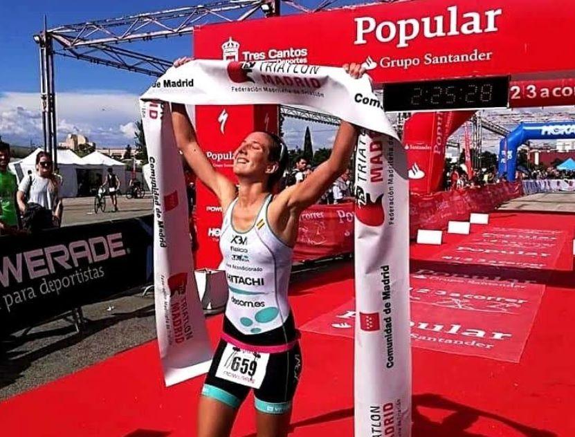 Triatlón: Marta García (Majadahonda) se corona campeona de Madrid frente a 900 atletas