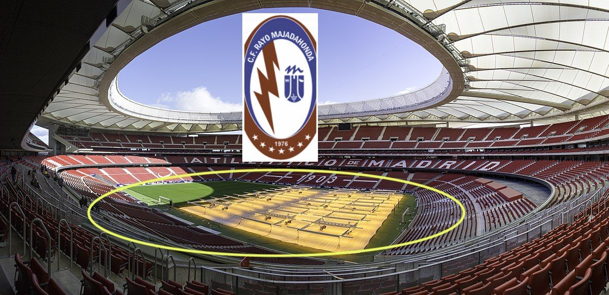 """At. Madrid ofrece al Rayo Majadahonda llenar el """"anillo bajo"""" del Wanda con sus socios"""
