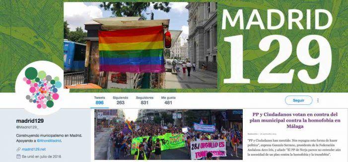 """Podemos/Ahora Madrid denuncia la """"homofobia casposa"""" de 2 concejales de Cs Majadahonda"""