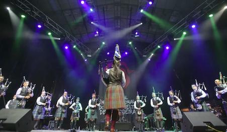 """Cecilia se lleva """"a todo Majadahonda"""" al Festival Celta de Ortigueira «santuario do folk mundial»"""