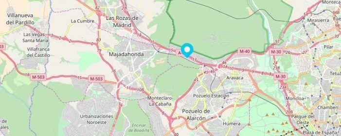 Los autobuses de Madrid se plantean dar servicio a las 2.500 personas que viven en El Plantío (Majadahonda)
