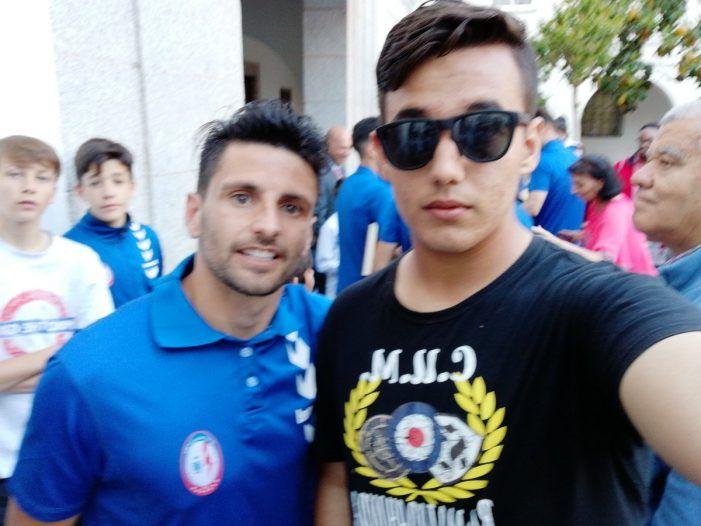 """Carlitos mejor jugador de 2ª B: """"el club contaba con Vicente"""" (Rayo Majadahonda)"""