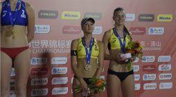 Voley Playa Majadahonda: Tania y Daniela conquistan el bronce en el Campeonato del Mundo 2018 de Nanjing (China)