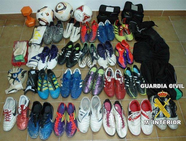 La policía desvincula al Rayo Majadahonda del robo de las botas de fútbol en Vallecas