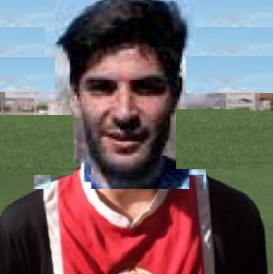 Protagonistas Fútbol Majadahonda: Portilla (Adarve), Frutos, Fidalgo (Castilla), De Pedro, Jairo Carcaba, David Rodríguez (Conquense)