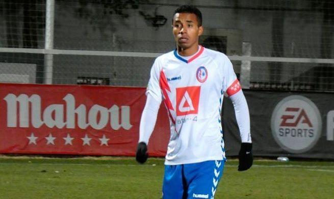 Protagonistas Fútbol Majadahonda: Movilla, Jeisson, Karim Koné y Roberto Barriga