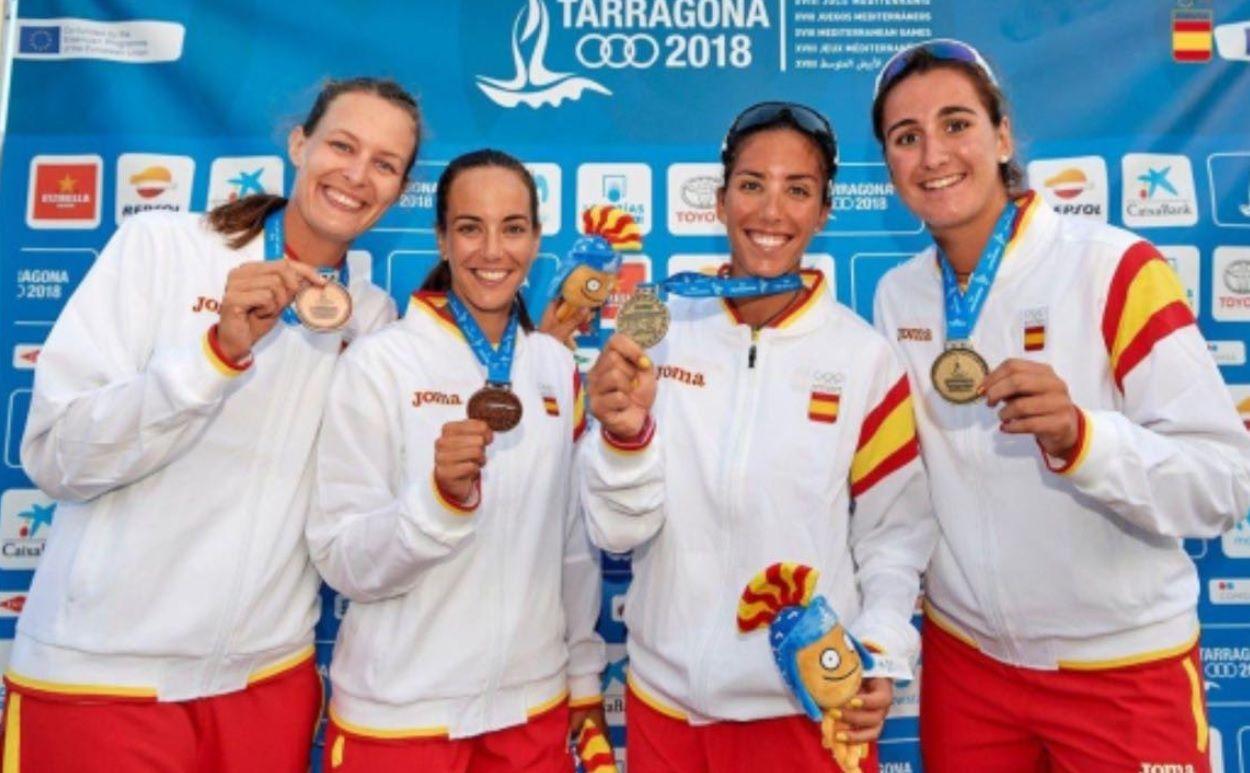 Voley Playa Majadahonda: Oro en los Juegos del Mediterráneo y 5ª posición en el Europeo