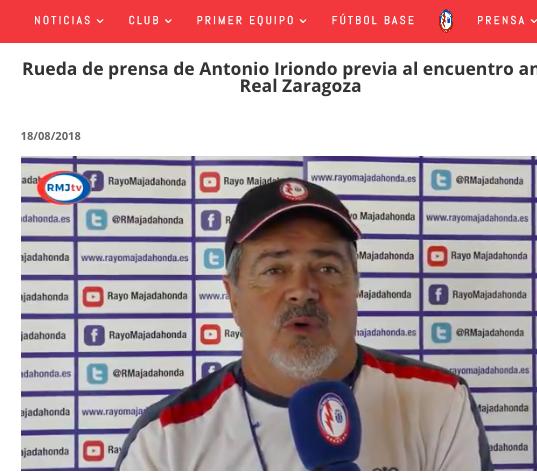 Todas las apuestas del Zaragoza-Majadahonda, restricción a las peñas, Iriondo como Rajoy