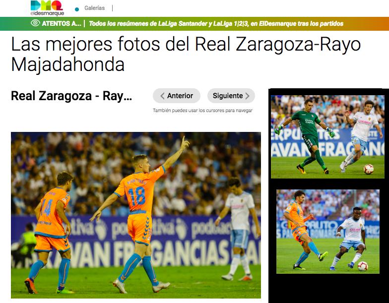 """""""Resaca"""" del Rayo Majadahonda en Zaragoza: buena defensa, 1 quiniela, eco de Tony Mtnez en Inglaterra y Aitor en Cádiz, el regalo de Ikea"""