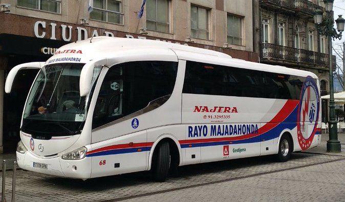 Protagonistas Rayo Majadahonda: autobús a Zaragoza, Jorge Pombo y Juan Cruz (Elche)