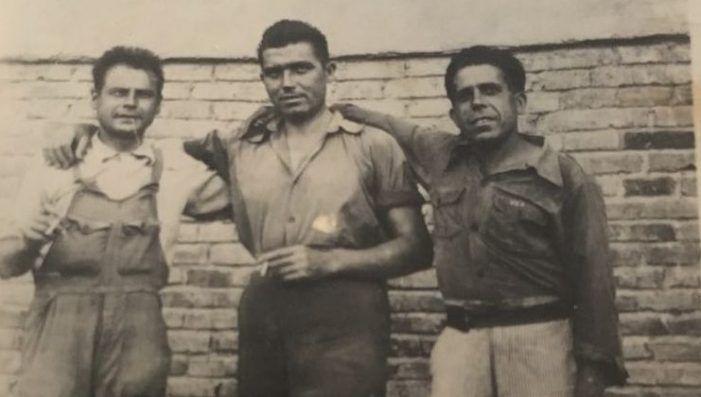 """La """"pandilla"""" de Majadahonda, Gregorio el """"Escalabrado"""" y su hija Ambrosia (año 1.927)"""