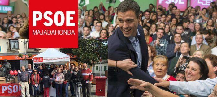 PSOE Majadahonda sube un 32% su militancia con Pedro Sánchez en Moncloa