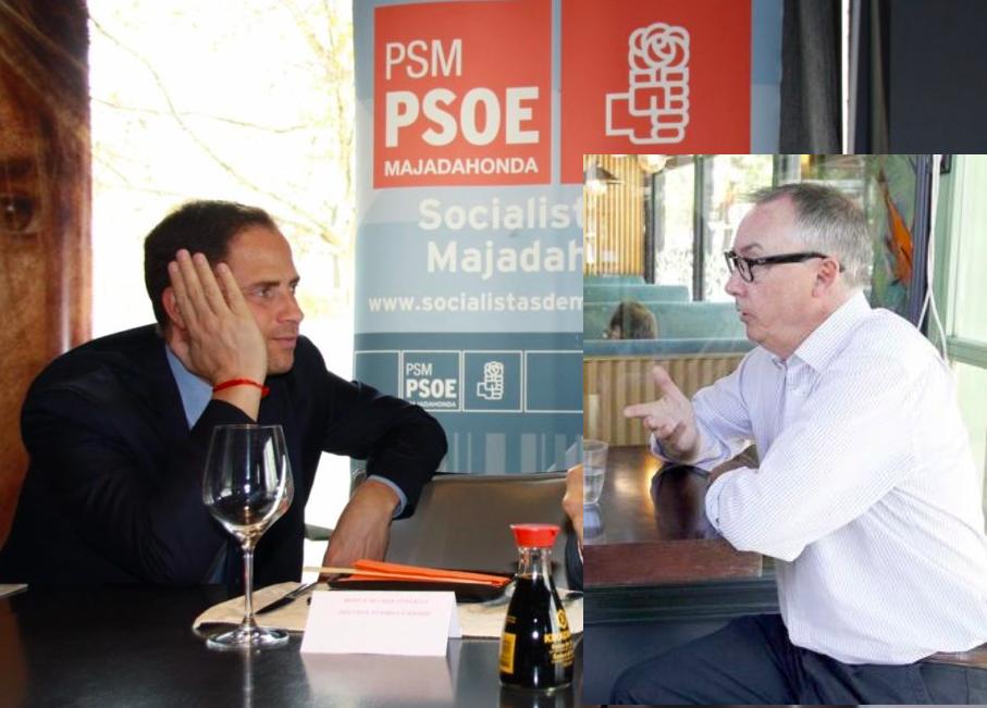 """El pulso entre Borja Cabezón y Zacarías Maíllo """"calienta"""" las primarias del PSOE Majadahonda"""