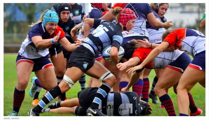 Rugby femenino: CR Majadahonda exhibe en Galicia sus credenciales por el título (15-17)