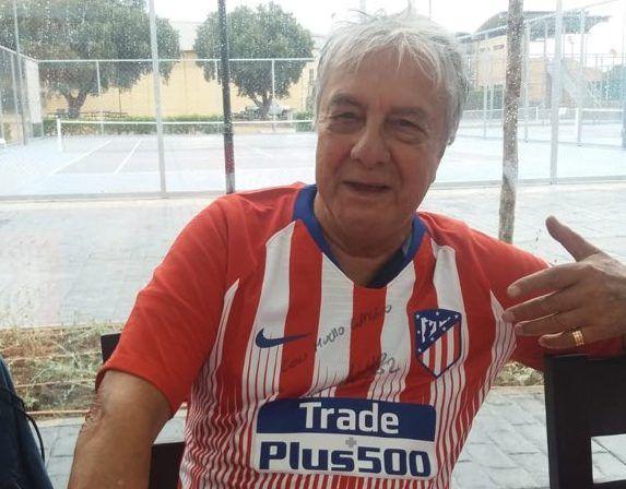 Protagonistas Fútbol: derrota del Rayo Majadahonda juvenil, Puerta Madrid (ropa solidaria), Peña Godín (Vilches, Rubio y Pedraza)