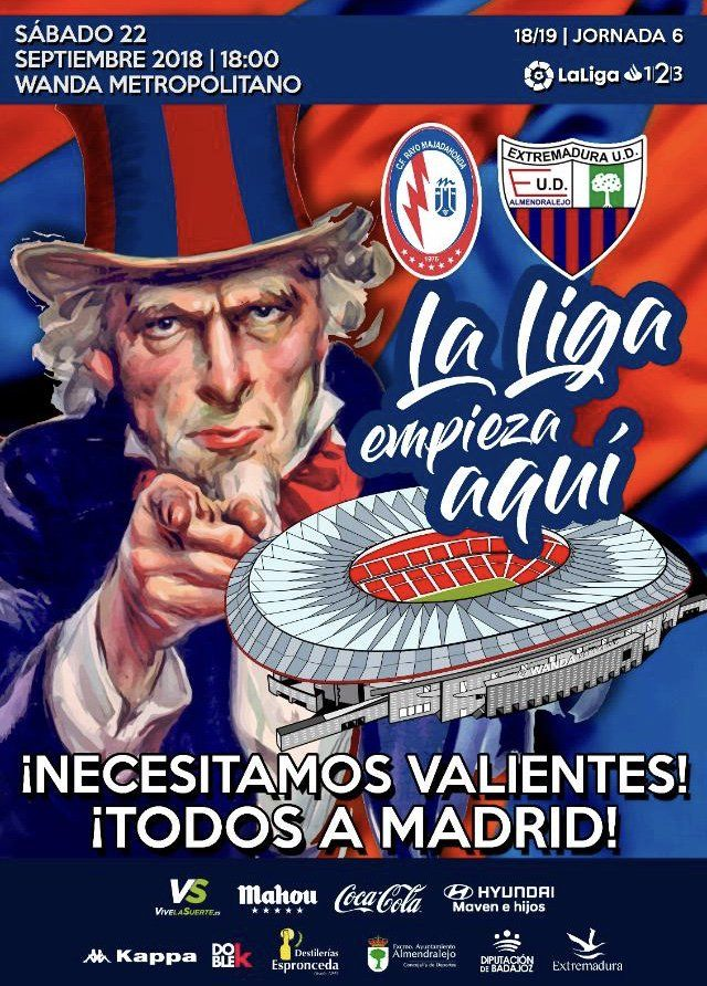 """Rayo Majadahonda culpa a Seguridad del At. Madrid del """"lío"""" con la afición extremeña"""