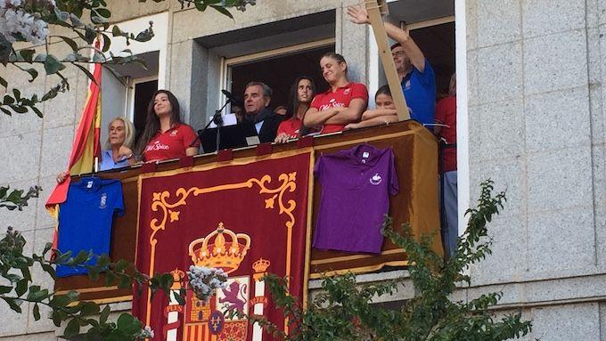 Pregón Majadahonda 2018: Rugby Femenino proclama sus valores y el alcalde su despedida