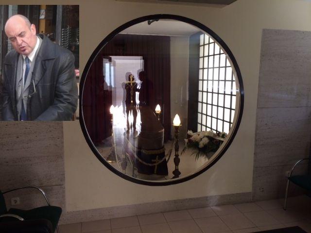 Majadahonda da su último adiós a Luis Bachiller: velatorio en el Tanatorio
