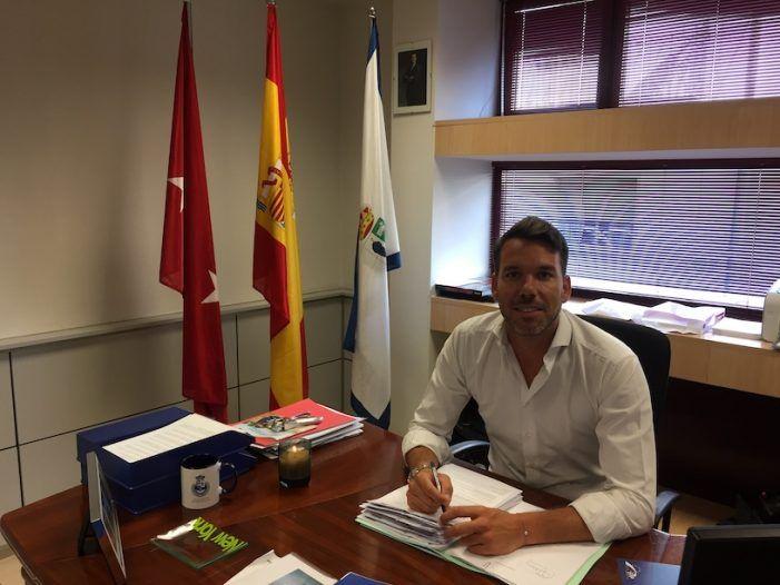 """Ortiz (PP), concejal de Seguridad (I): """"La denuncia por exceso de ruido en Majadahonda es cierta"""""""