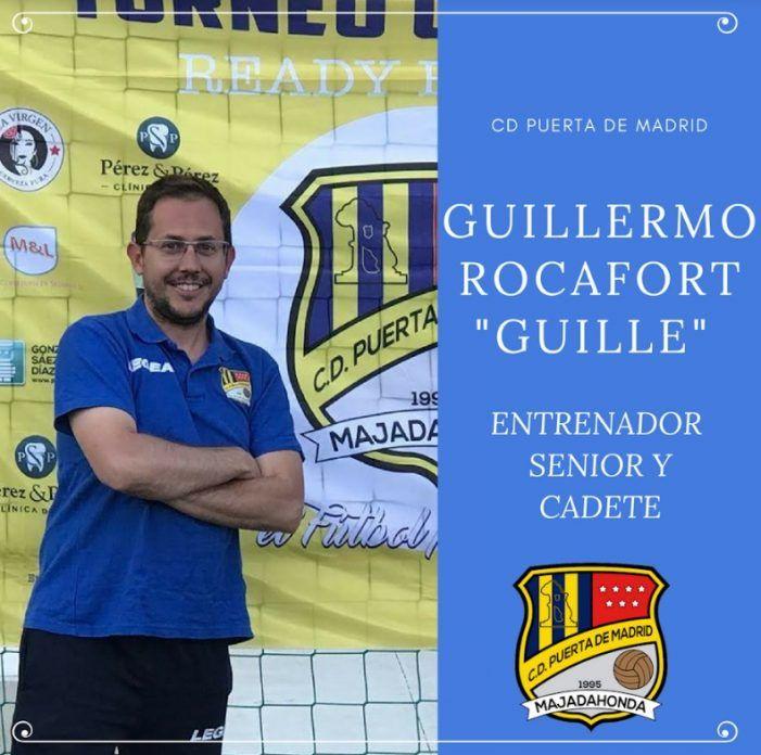 """Guillermo Rocafort (Fútbol Majadahonda): """"Puerta de Madrid no tiene techo y ha llegado para quedarse"""""""