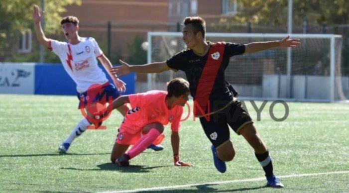 """Rayo Majadahonda Juvenil: un sobresaliente Marcos Bravo y 5 """"notables"""" le dan un susto al Vallecano pese a la derrota (1-2)"""