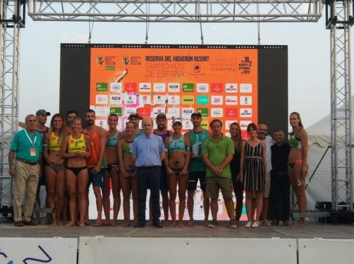 Protagonistas Deporte Majadahonda: Belén Carro y Olga Matveeva (voley playa), tenis playa, esgrima, gimnasia y fútbol