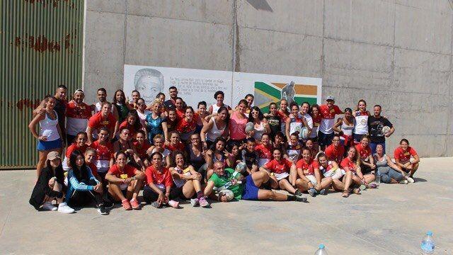 Protagonistas Deporte Majadahonda: Escuela Madiba (rugby) y Manuela Hervás (gimnasia)