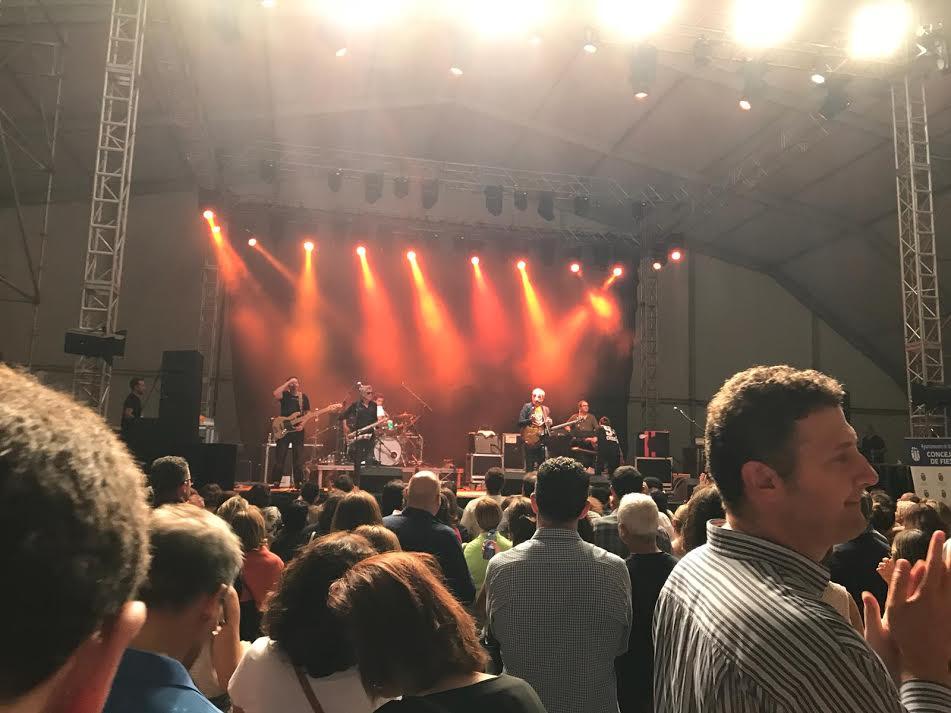 """El Festival Pop Majadahonda 2018 concluye con """"sonido Nacha"""" y """"Cómplices"""" en plena forma"""